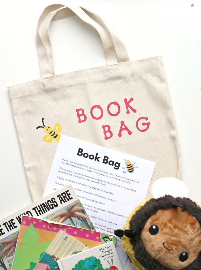 book bag for preschool