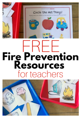 fire prevention resources for teachers