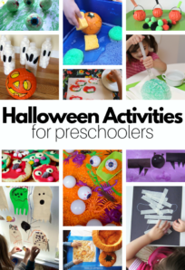 preschool halloween activities