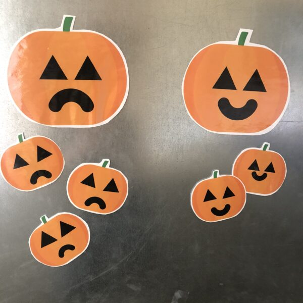 Halloween emotions lessons