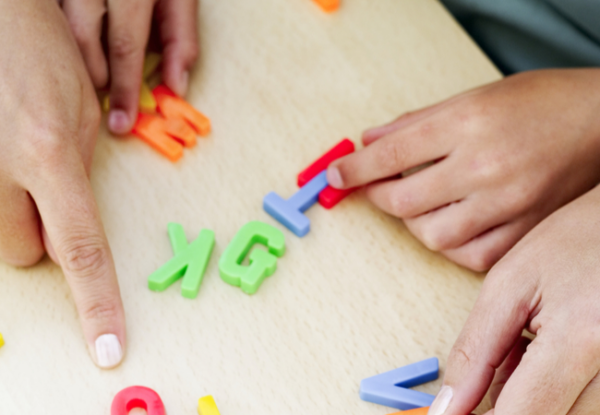 teaching letters preschool