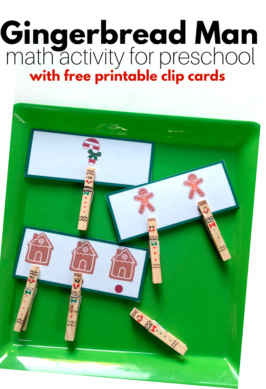 Preschool resource of activities