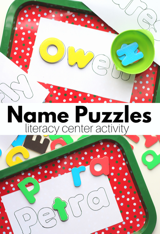 name activities for kids