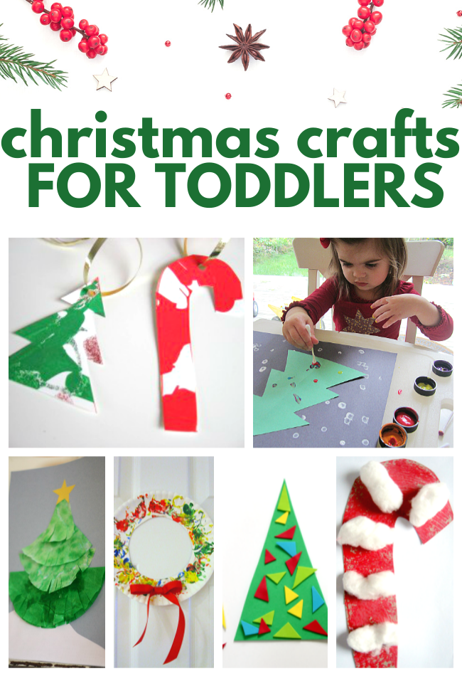 CHRISTMAS CRAFTS FOR TODDLERS AGE 2-3