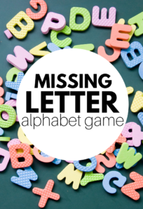 letter game for preschool