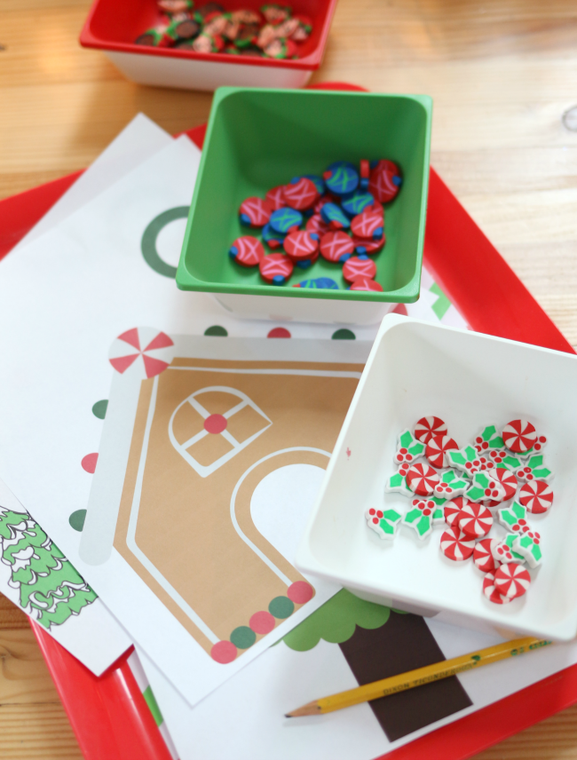 MINI ERASER ACTIVITIES FOR MATH CENTERS