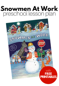 winter lesson plan for preschool
