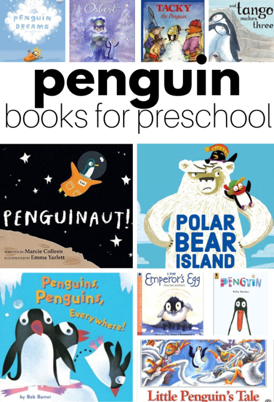 penguin books for preschool covers