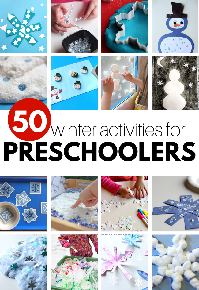 preschool winter activities
