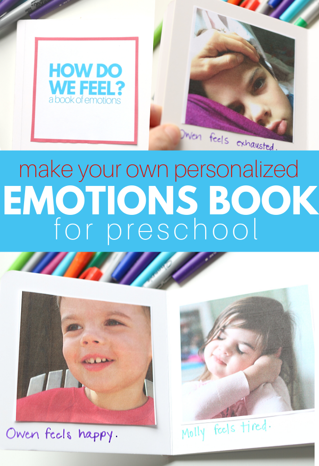 emotions book for preschool