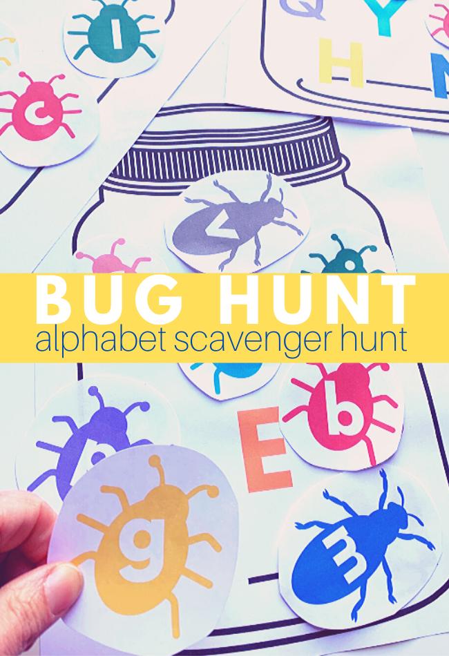 alphabet scavenger hunt