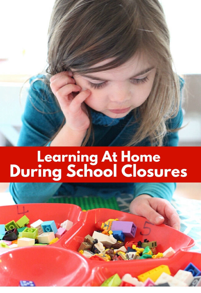 Learning at home during coronavirus school closures activities for kids
