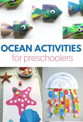 preschool activities with ocean theme