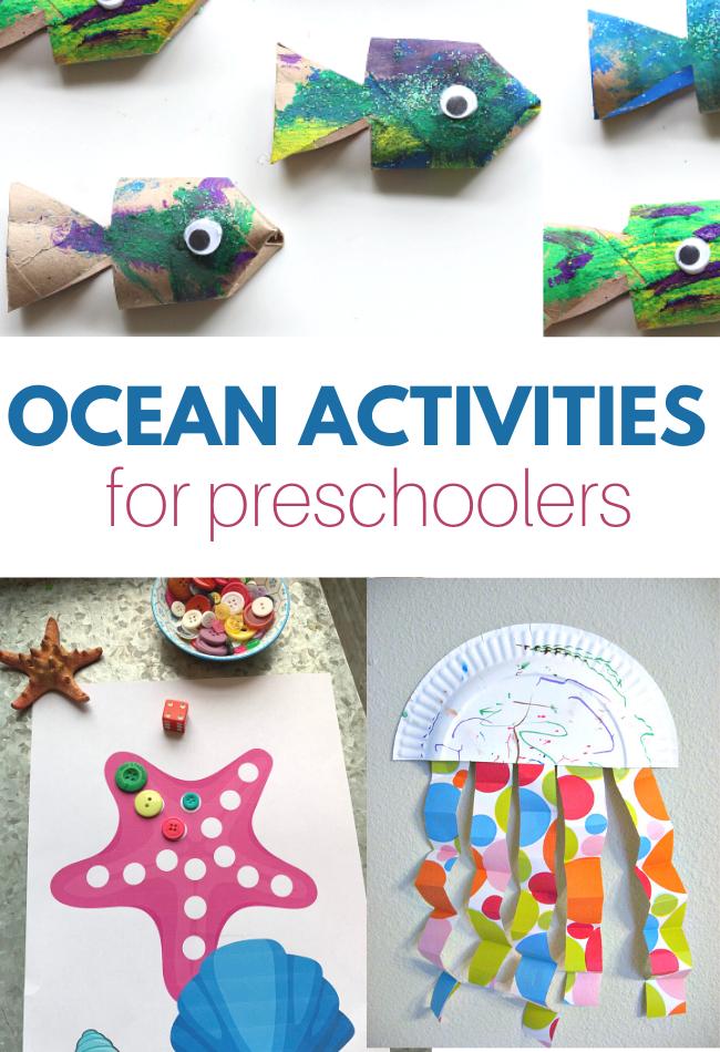 preschool activities with ocean theme