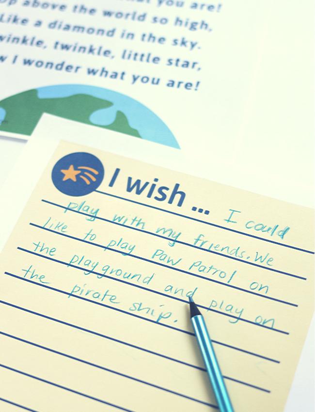 twinkle twinkle little star lesson