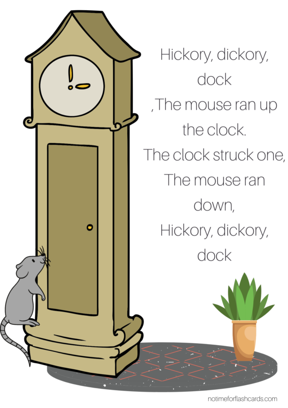 hickory dickory dock lesson plan