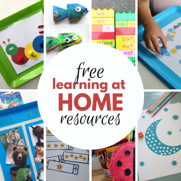 learning at home covid-19 homeschool preschool