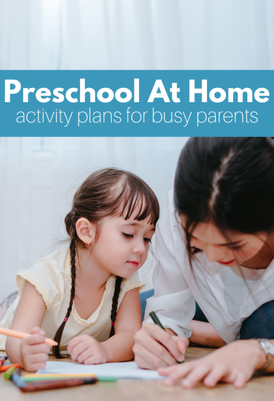 preschool at home