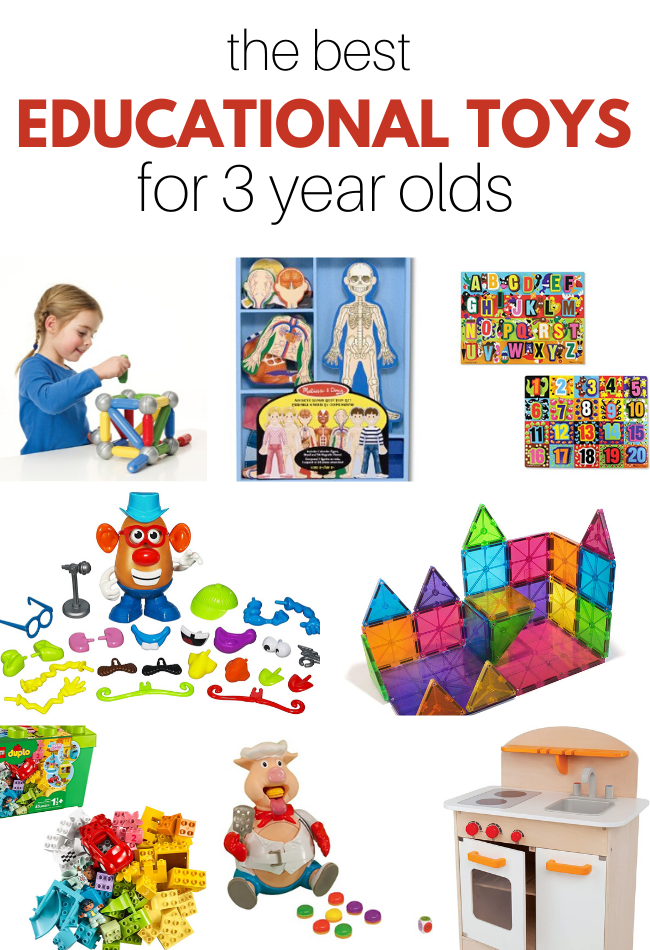 Best Educational Toys For 3 Year Olds No Time For Flash Cards