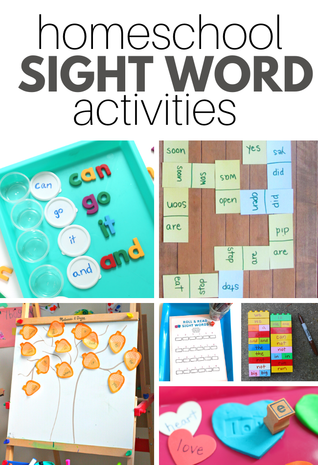 how to work on sight words at home