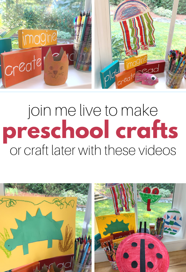 FREE Streaming Preschool Activities - No Time For Flash Cards