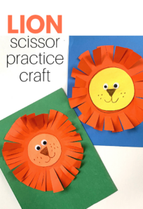 no time for flash cards lion craft