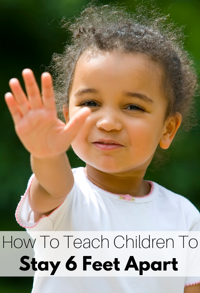 how to teach preschoolers about social distancing