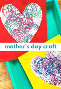 super easy mother's day craft