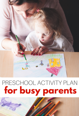 PRESCHOOL AT HOME FOR WORKING PARENTS