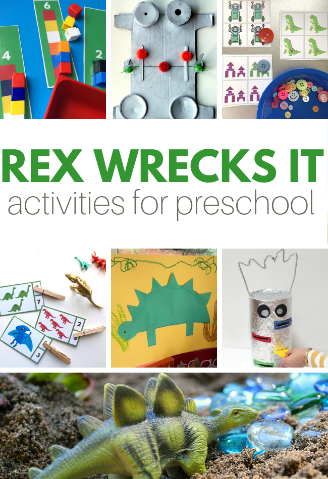 dinosaur activities preschool