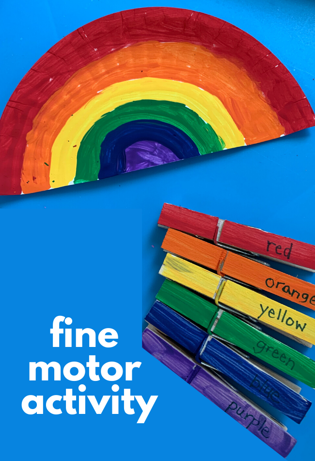 Color Matching Rainbow Fine Motor Activity No Time For Flash Cards If mucus is pink or red it means the nasal. color matching rainbow fine motor