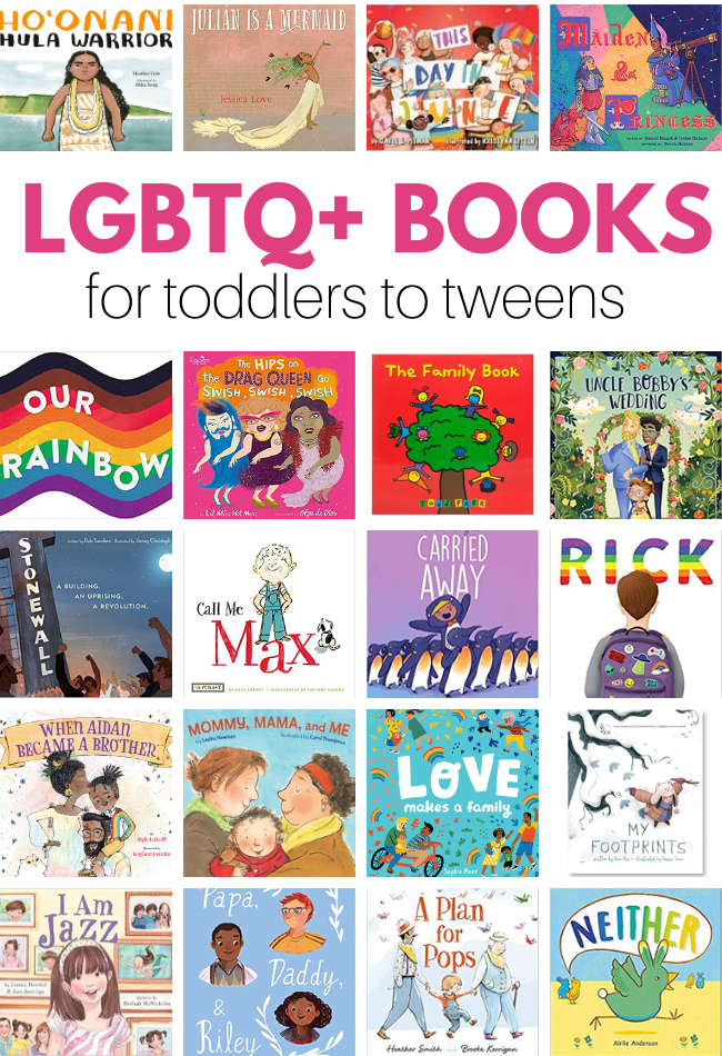 LGBTQ children's book list