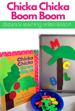 distance learning lesson plan for preschool