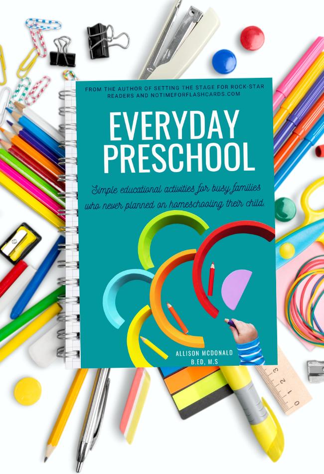 everyday preschool activity book