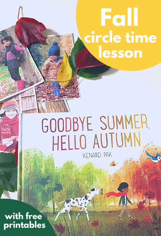 fall preschool lesson plan