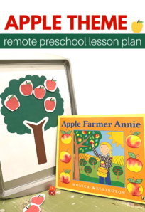 remote preschool lesson plan