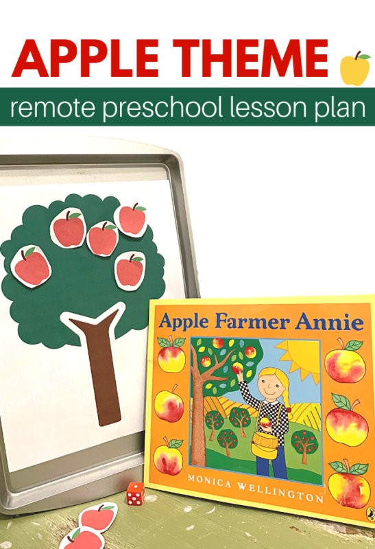 remote preschool lesson plan