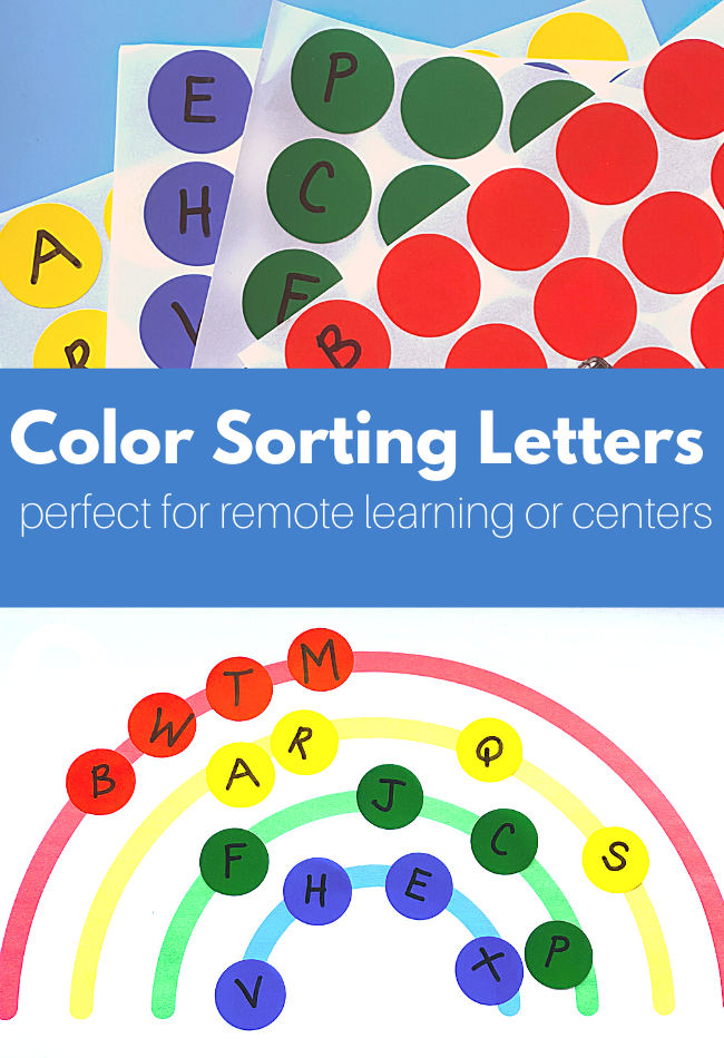 remote preschool literacy activity
