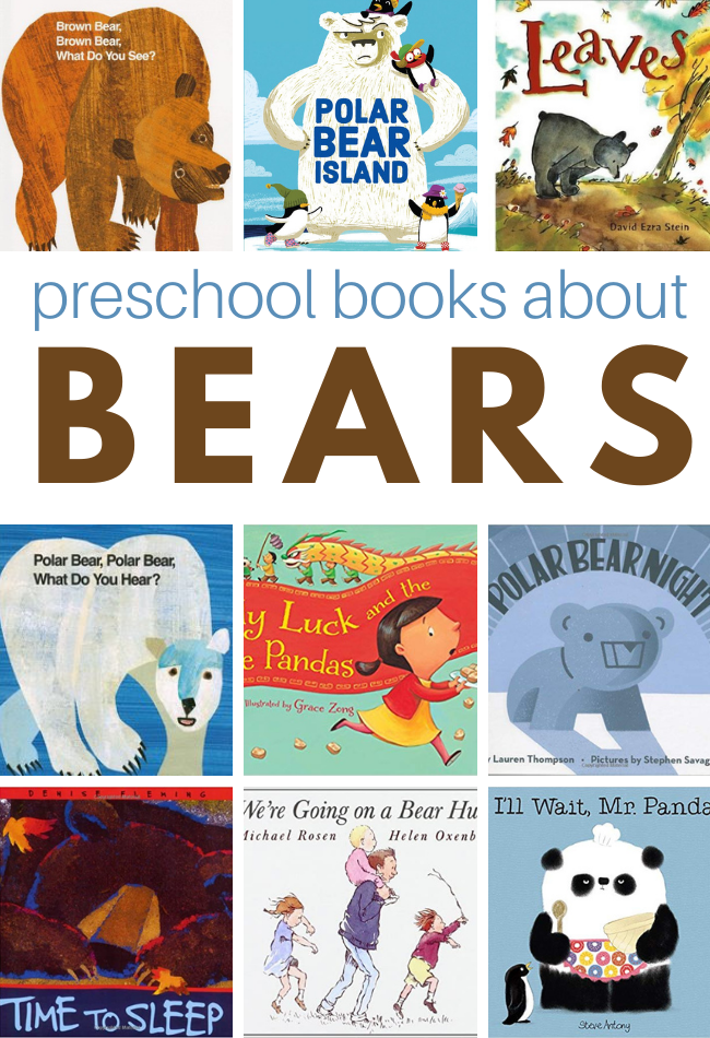 20 Preschool Books About Bears No Time For Flash Cards