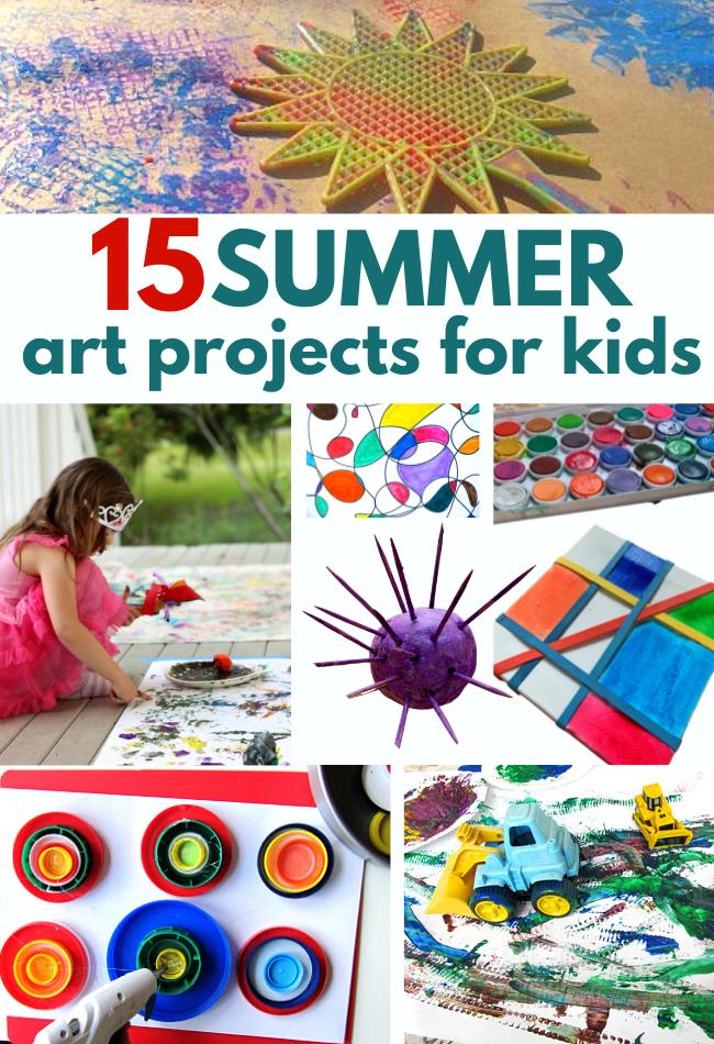 SUMMER ART IDEAS FOR KIDS