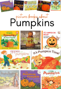 picture books about pumpkins for preschool and prek